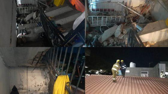 Effondrement d'une maison à Plaine-Verte : la famille Mungul devra évacuer les lieux
