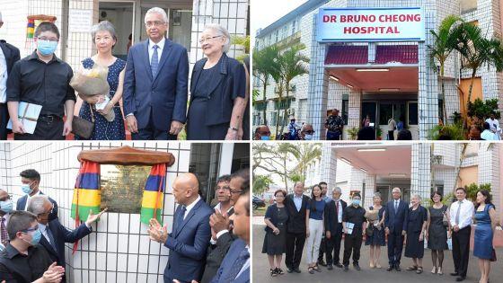 L'hôpital de Flacq au nom du Dr Bruno Cheong : «C'est notre devoir de l'honorer pour son travail remarquable» affirme le PM