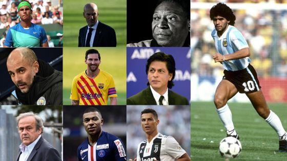 Les réactions à la mort de Maradona