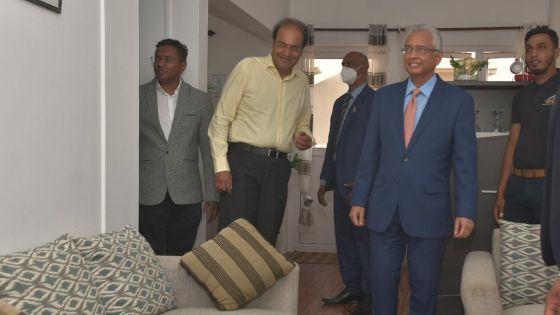 NHDC : Pravind Jugnauth appelle les propriétaires à contribuer aux fonds de syndic
