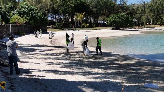 Le parc marin de Blue-Bay rouvert, des restrictions enlevées pour certaines plages