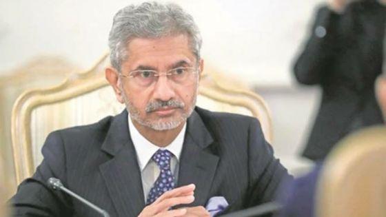Diplomatie : le ministre indien des Affaires étrangères foulera le sol mauricien cet après-midi