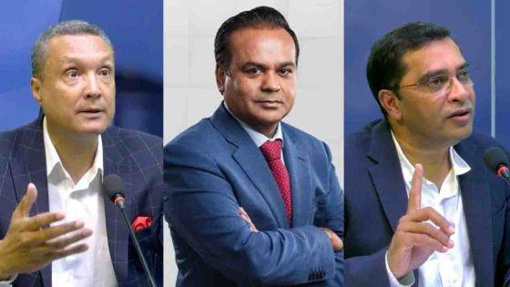 Assirvaden, Ramful et Aumeer se retirent du comité parlementaire de l'Icac
