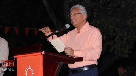 Congrès du MSM : Pravind Jugnauth prendra la parole à la mairie de Vacoas-Phoenix ce soir