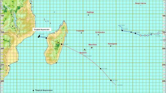 Météo : une dépression tropicale passera à environ 300 km de Baie-du-Cap dimanche ; le cyclone Habana pas un danger pour Maurice
