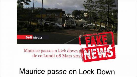 Sur WhatsApp : une photo avec le logo du Défi Media utilisée à tort pour la diffusion d'une fausse nouvelle
