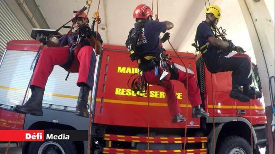 Journée internationale des pompiers : les sirènes ont retenti à 11 h ce mardi 4 mai