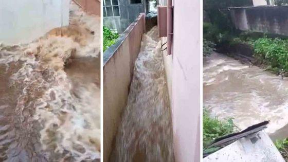 Avis de fortes pluies : Mare-Tabac touché par les grosses pluies