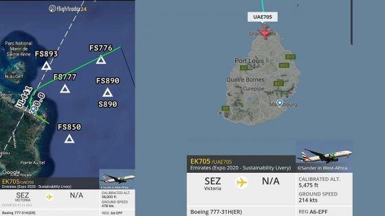 Atterrissage d'urgence à Plaisance : le Boeing 777-31 H a pu finalement décoller pour Seychelles