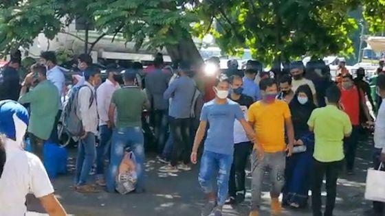Non-respect du protocole sanitaire : le syndicaliste Radhakrishna Sadien demande aux autorités de réagir