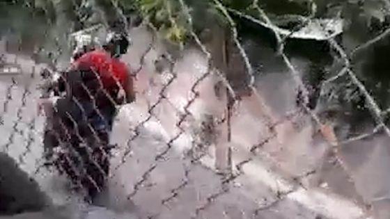 Vallée-Pitot : des habitants sortent de la zone rouge en catimini