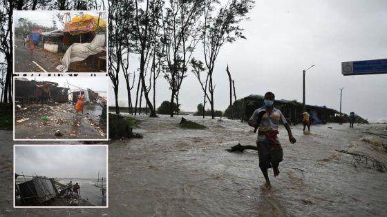 Le puissant cyclone Yaas s'abat sur les côtes orientales de l'Inde