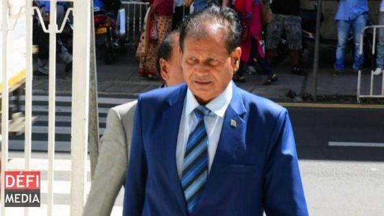 Allégations de pots-de-vin : hospitalisé, Dayal n'a pu se présenter devant la Financial Crimes Division