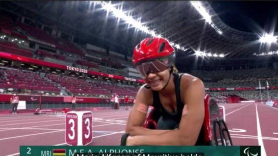 Jeux Paralympiques : Noemi Alphonse 10e en finale du 1500m