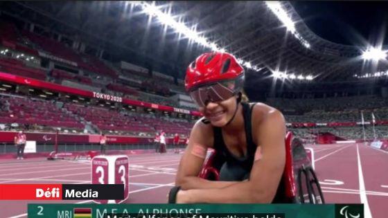 Jeux Paralympiques : Noemi Alphonse en finale du 400 m en catégorie T54
