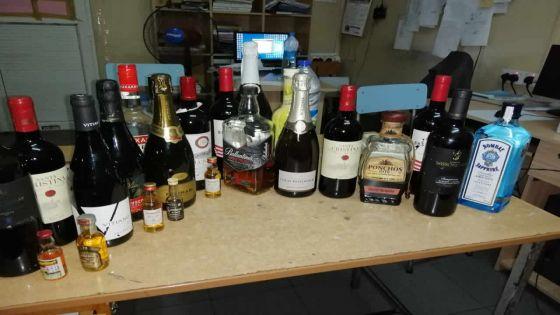 Nord : un gang de voleurs de bouteilles de whisky sous les verrous