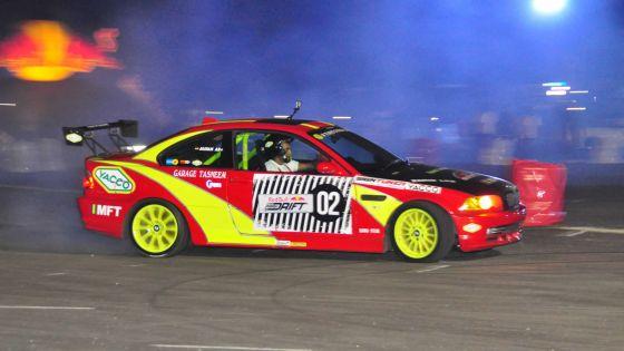 Red Bull Car Park Drift Mauritius: Emmanuel D'Hotman demeure Fast & Furious