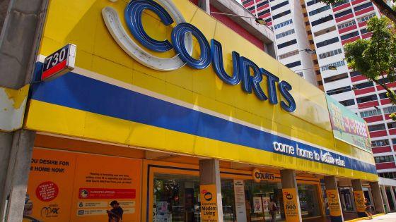 Rachat de Courts Mauritius: Courts Asia réclame $13,6 millions de dommages