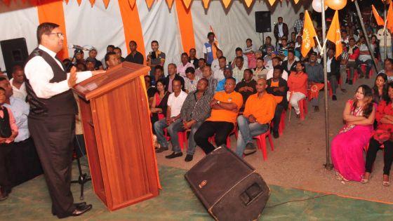Soodhun: «Le MSM est le seul parti  à avoir un leader sincère»
