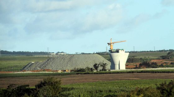 Bagatelle Dam complété à 70 %