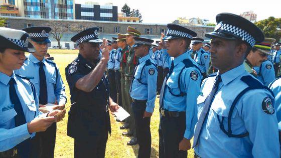 Force policière: 594 recrues confirmées
