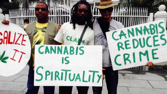 La bande à Jameel Peerally réclame la légalisation du gandia