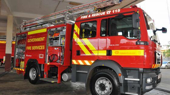 Pompiers: trois nouvelles casernes