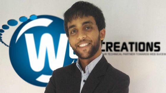 Lougeshwar Dooluthsing: chef d'entreprise à 20 ans, il vise l'international