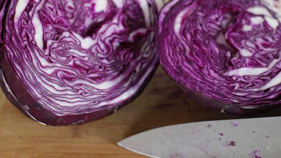 Chou rouge: pas seulement pour des salades!