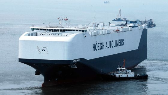 Hoëgh Target: Un bâtiment qui roule sur les eaux
