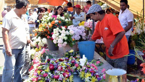 En marge de la fête des Morts: croissance dans la vente de fleurs
