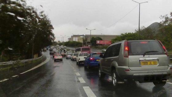 La route Terre-Rouge-Verdun fermée à la circulation à cause du mauvais temps