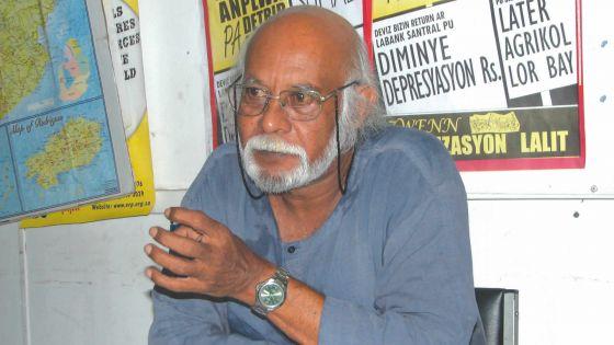 Ram Seegobin: «Les lois Bhadain instrumentalisent un problème qui est bien réel»
