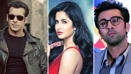Rencontre Salman Khan-Katrina Kaif confirmée: mais aucune discussion  à propos de Ranbir Kapoor