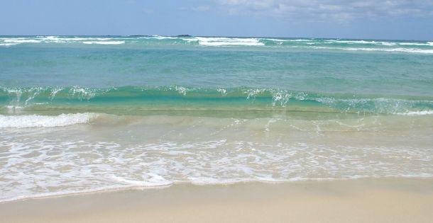 Météo marine : Des fortes houles rapportées au niveau de la plage de Grande Pointe à Poste-La-Fayette