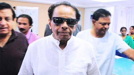 On visit to india: SAJ undergoes eye surgery