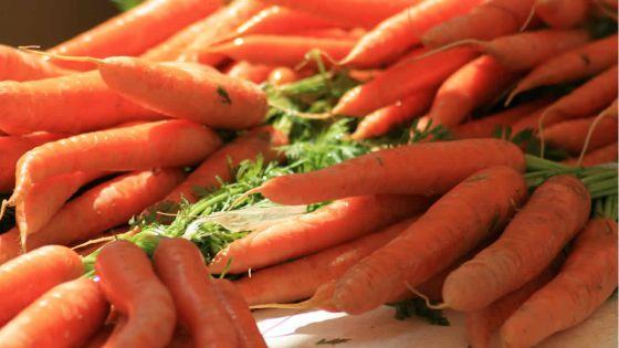 Conso : la carotte importée en vente à Rs 35 le demi-kilo