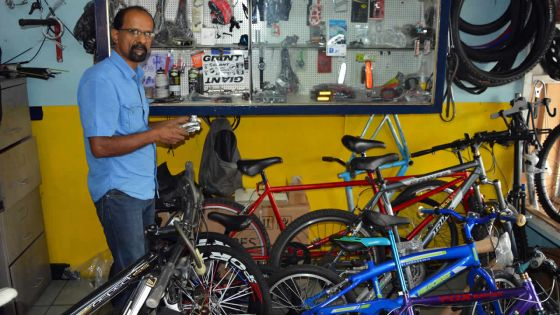 Métier: Ashok Isnoo, adepte de l'évolution des vélos
