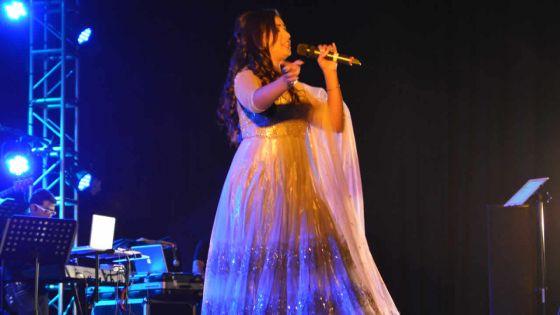 Concert à Pailles: Shreya Ghoshal en symbiose avec son public
