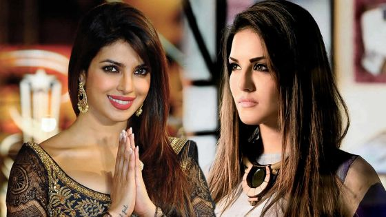 La «Most Desirable Woman» de 2015: Sunny Leone battue par Priyanka Chopra