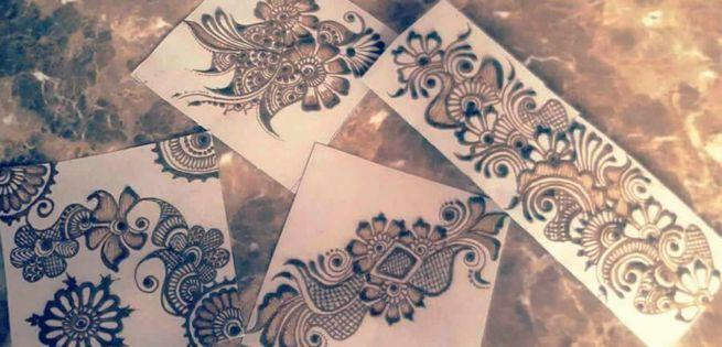 Yashveer Singh: Le henné au masculin