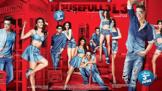 Housefull 3: le premier film divertissant de 2016
