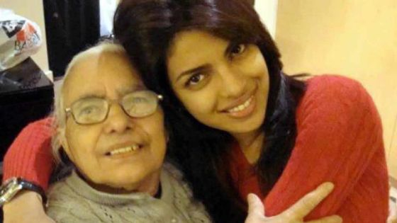 Priyanka Chopra perd sa grand-mère