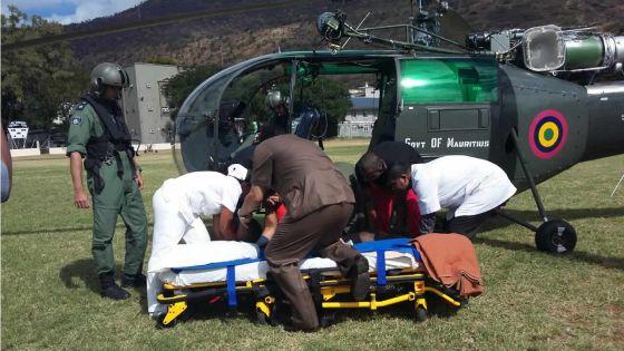 MV Benita : un expert étranger blessé