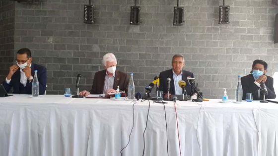 [Live] Duval, Bérenger, Bodha et Bhadain face à la presse