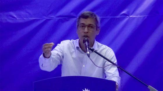 Congrès nocturne du pmsd à mesnil : Xavier-Luc Duval inquiet face au taux de criminalité