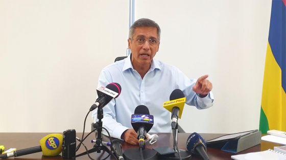Rapport de l'Audit : Xavier-Luc Duval réclame des sanctions contre des ministres