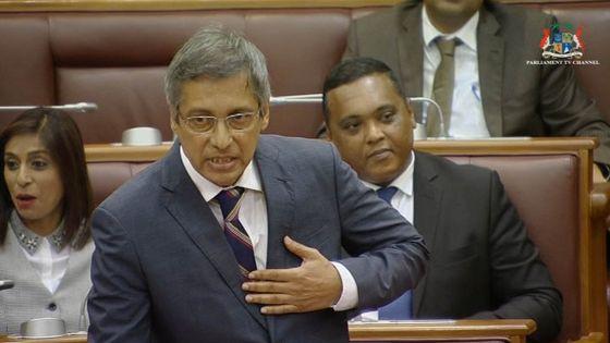 Parlement PNQ : « mille fwa Baichoo… », a lancé Xavier Luc Duval