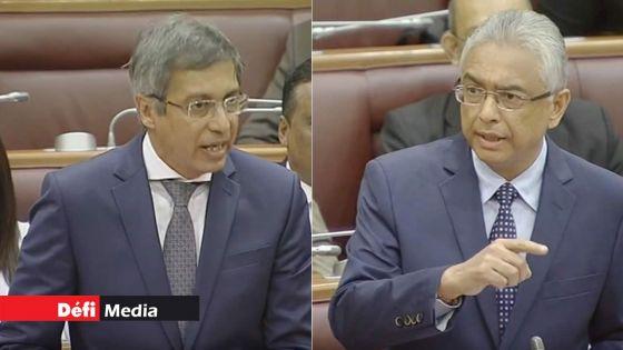 Dossier BAI : Pravind Jugnauth et Xavier-Luc Duval croisent le fer au Parlement