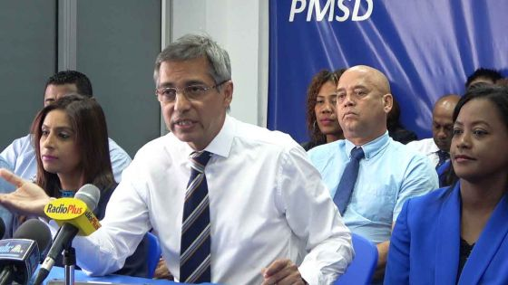 «Mo invite Mario Nobin prend congé ziska l'enquête fini», déclare Xavier-Luc Duval